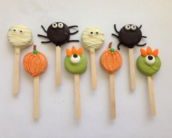 Halloween Cookie Critters