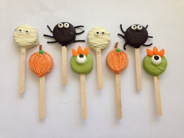 Halloween Cookie Critters