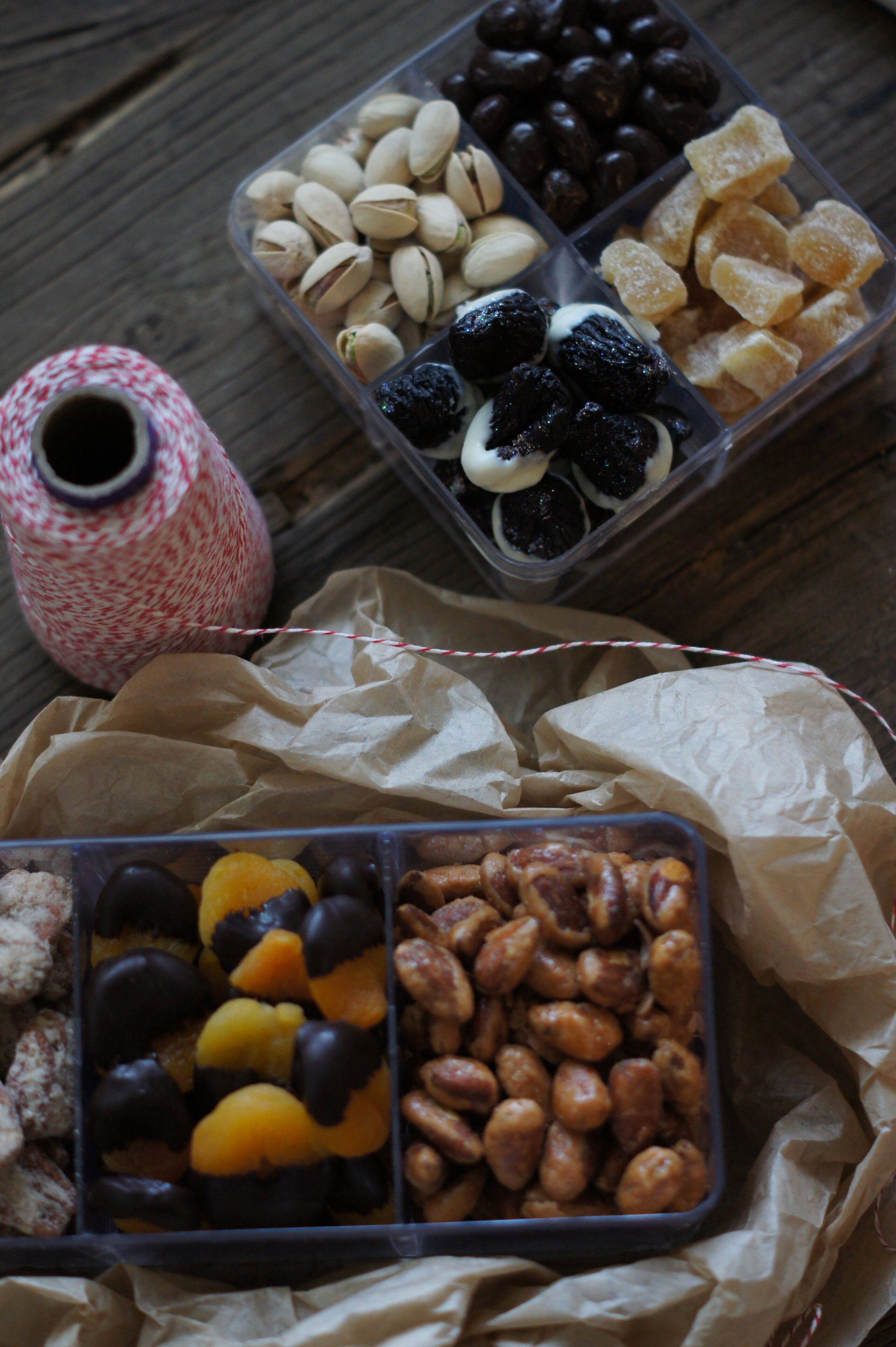 Edible Gifting: Dried Fruit & Nuts Boxes