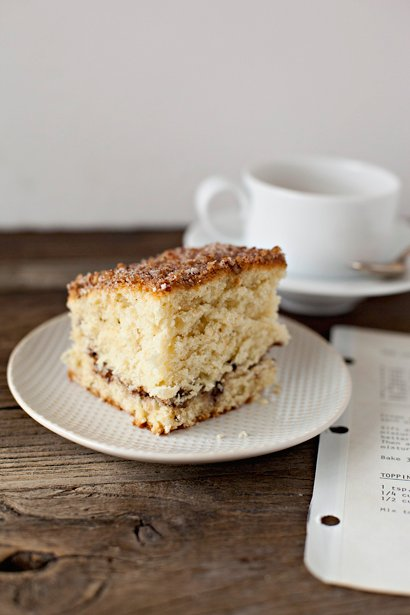 Nanny's Sour Cream Coffee Crumb Cake