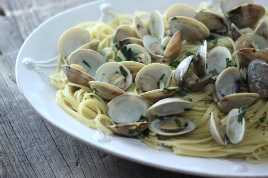clams and pasta