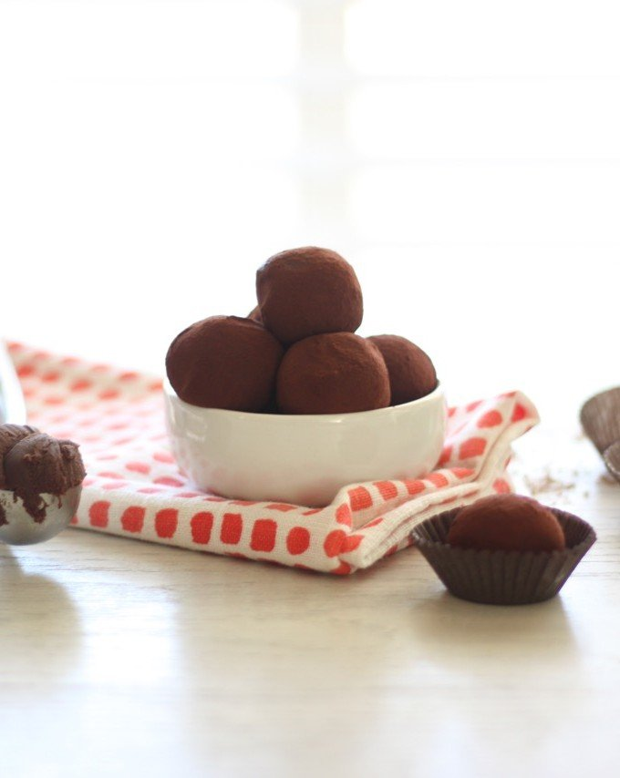 Smokey Sweet-Smoked Sea Salt Chocolate Truffles