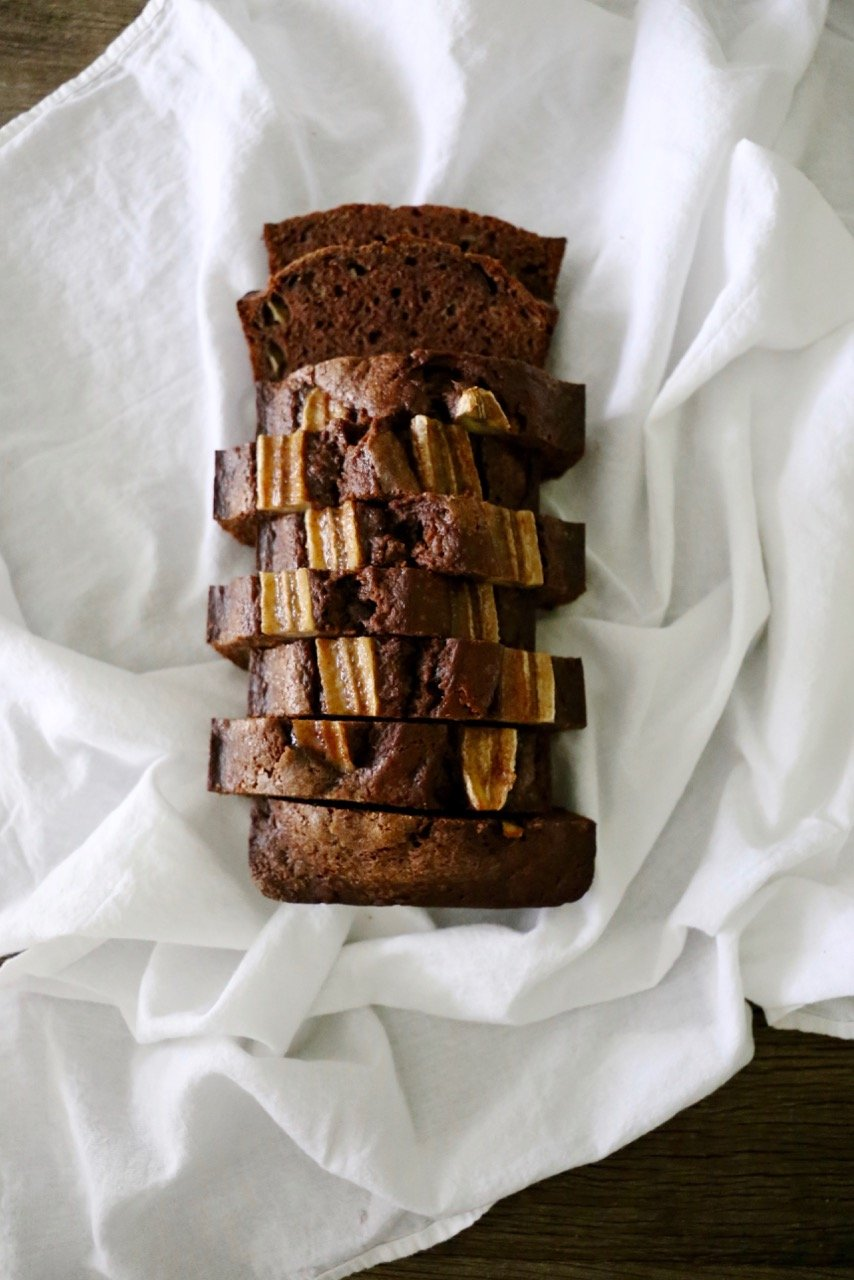 Chocolate Spice Banana Bread