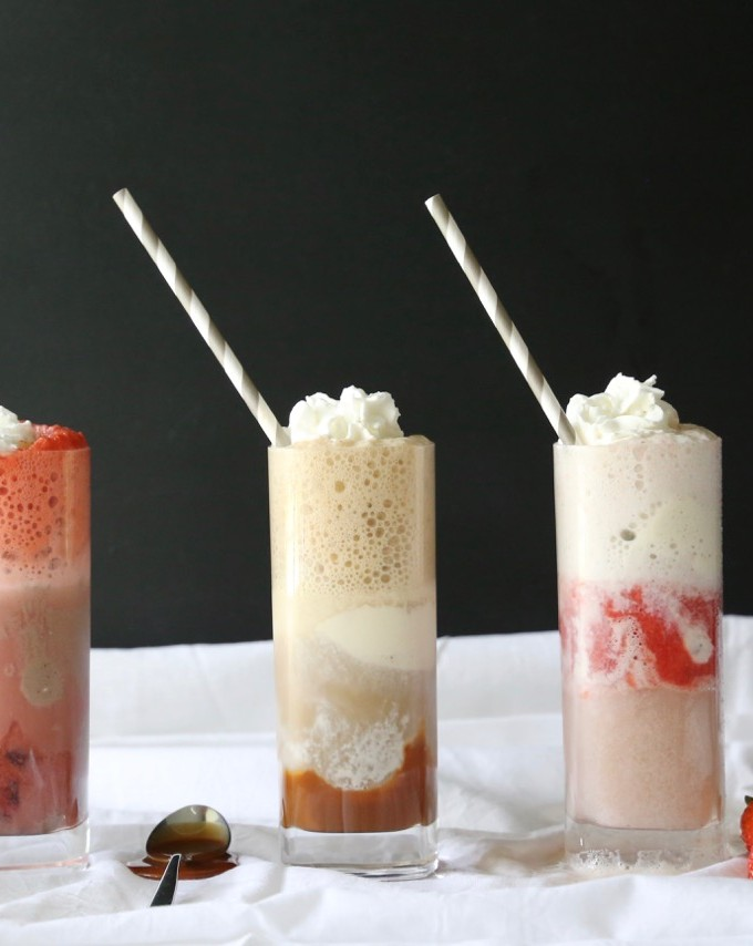 Ice Cream Floats with Brio Ice Cream