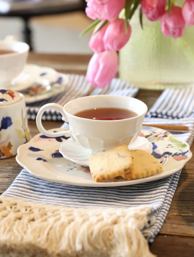 Spring Tea Scones & Tea Cookies