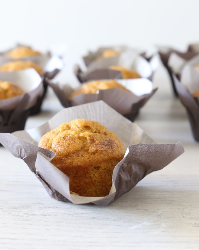 Cinnamon Sugar Pumpkin Muffin