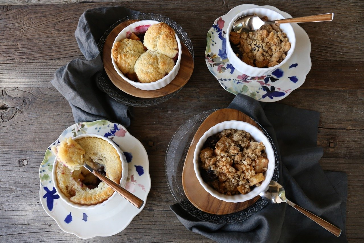 Crisp, Cobbler, Betty + Buckle