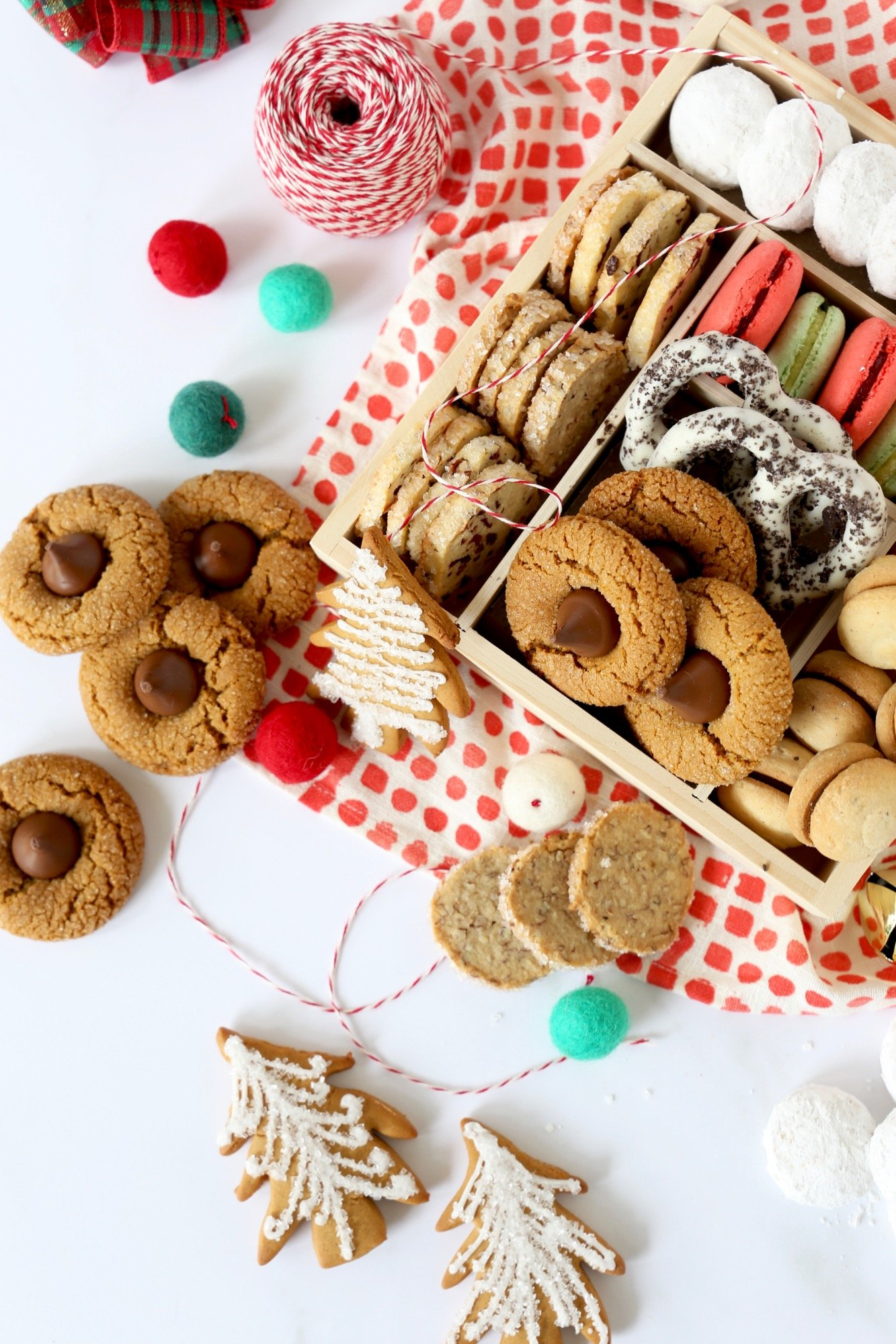 Homemade Holiday Cookie Gifts