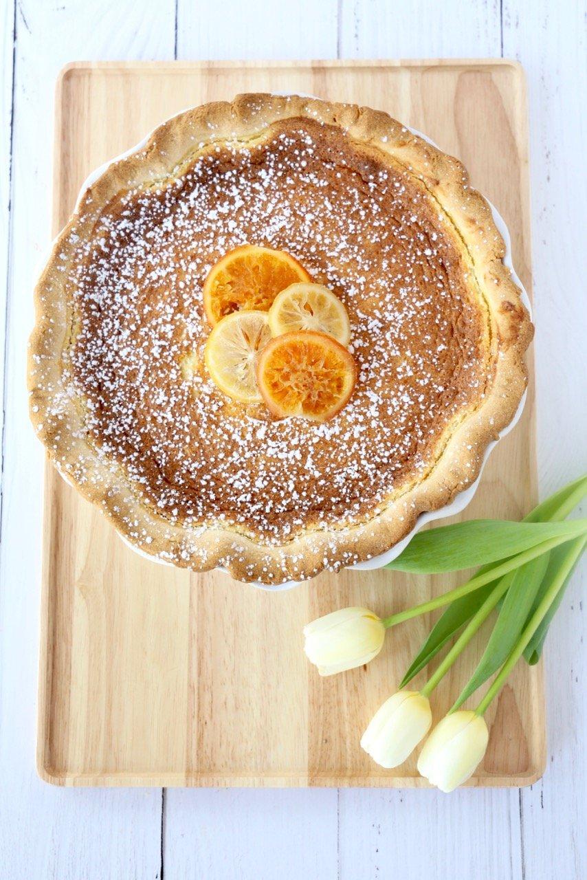 Easter Grain Pie (Pastiera Napoletana)