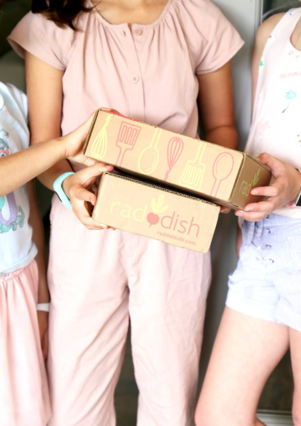 Kids in the kitchen with Cooking Subscription Kits