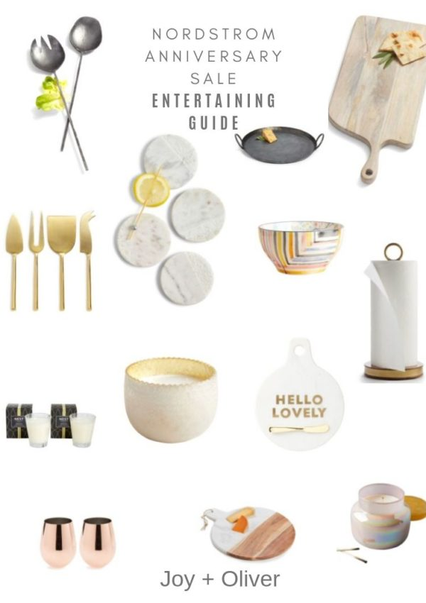 Entertaining Guide from the Nordstrom Anniversary Sale