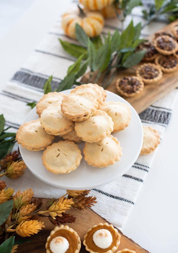 Miniature Fall Pies