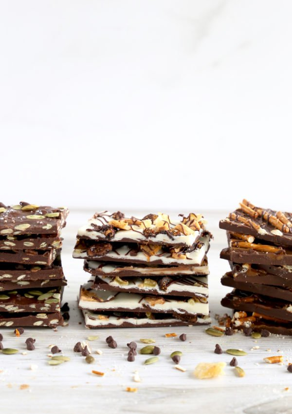 Fall Chocolate Bark