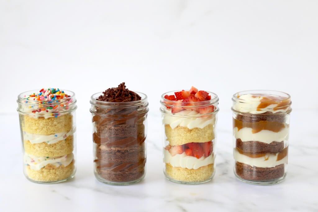 Incredible Birthday Cake In A Jar Joy Oliver Funny Birthday Cards Online Fluifree Goldxyz