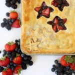 Triple Berry Slab Pie