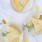 Lemon Buttermilk Chess Tart