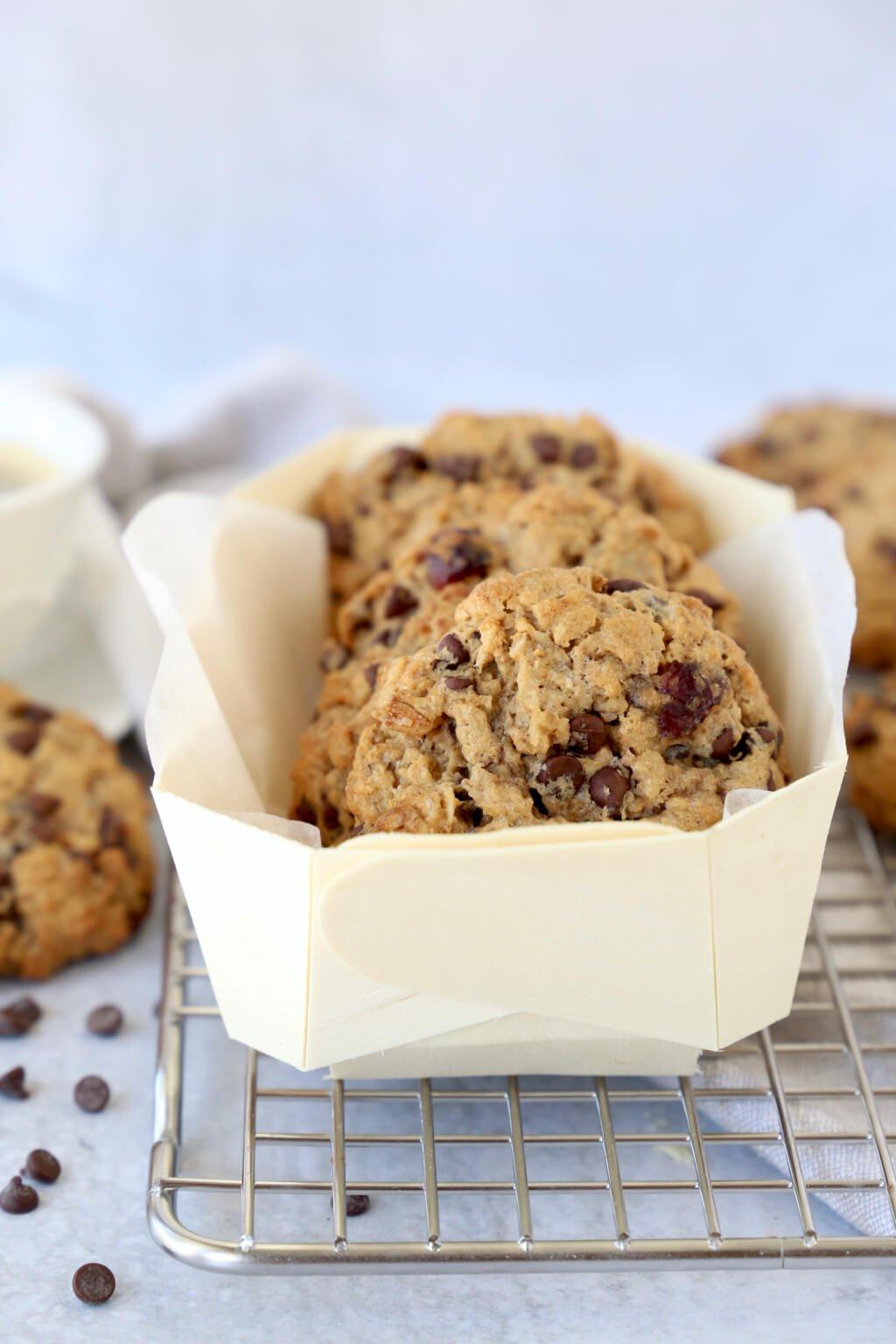 breakfast cookies packaged for gifting