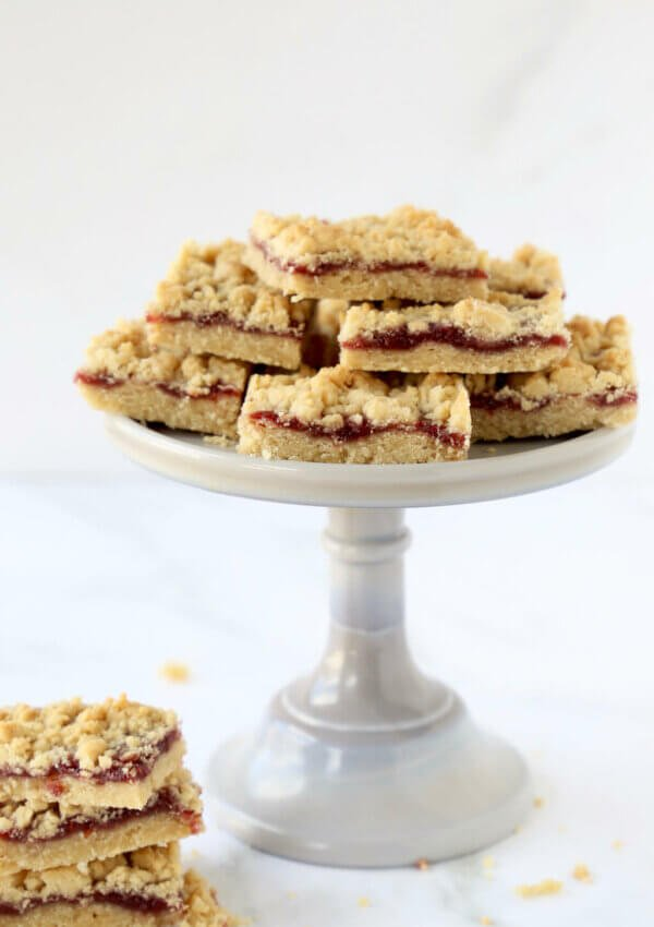 Jam Shortbread Bars