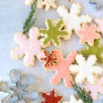 Almond Sugar Cookie Snowflakes