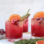 Spiced Cranberry Paloma Cocktail