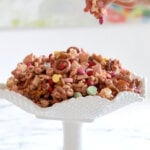 Valentine's Strawberry Snack Mix